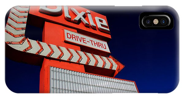 IPhone Case featuring the photograph Dixie Drive Thru by Kelly Hazel