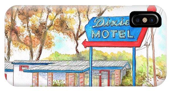 Dixie Motel In Hilliard - Florida IPhone Case