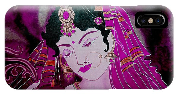 Diya Girl Phone Case by Priyanka Rastogi
