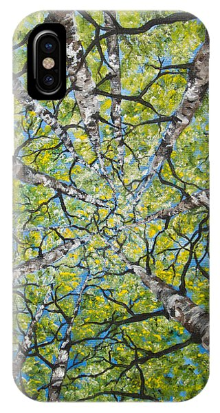 Dizzy Aspens IPhone Case