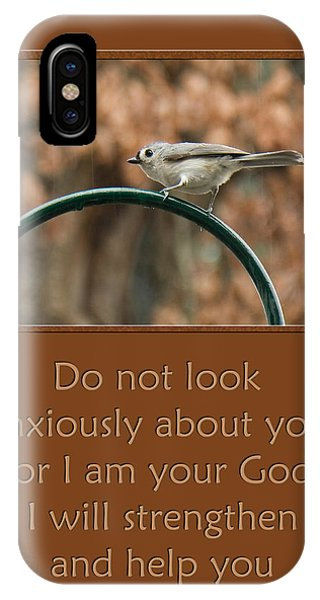 Do Not Look Anxiously About You IPhone Case