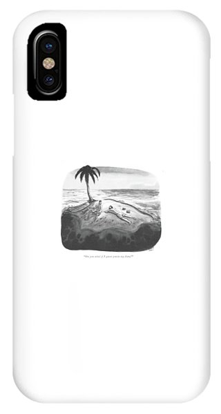 Shipwreck iPhone Case - Do You Mind If I Quote You In My Diary? by Richard Decker