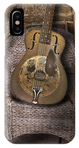 Dobro Guitar Phone Case by Larry Butterworth