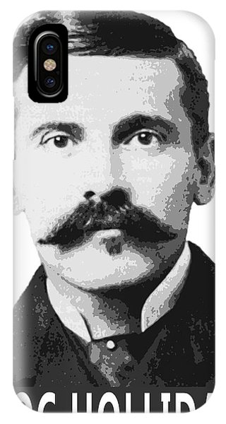 Ok iPhone Case - Doc Holliday Of The Old West by Daniel Hagerman