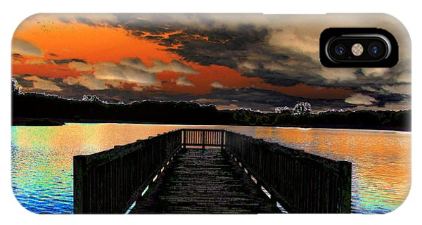 Dock In The Park Phone Case by Michael Rucker