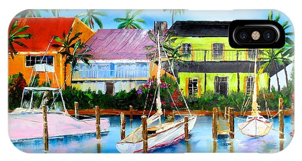 Docked At The House IPhone Case