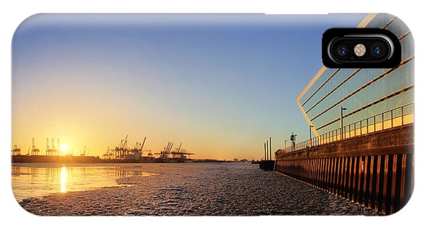Dockland Sunset IPhone Case