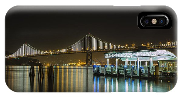 Docks And Bay Lights IPhone Case