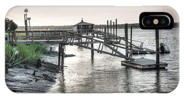 Docks Of The Bull River IPhone Case
