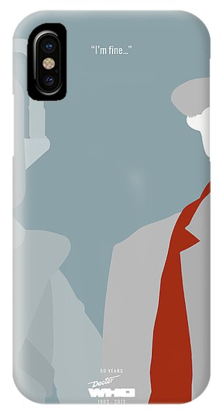 Doctor Who 50th Anniversary Poster Set Seventh Doctor IPhone Case