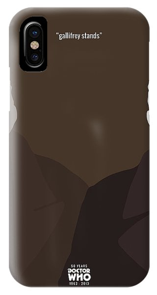 Doctor Who 50th Anniversary Poster Set The War Doctor Phone Case by Jeff Bell