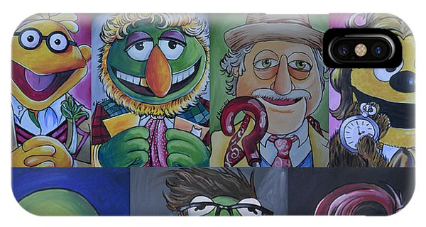 Doctor Who Muppet Mash-up IPhone Case
