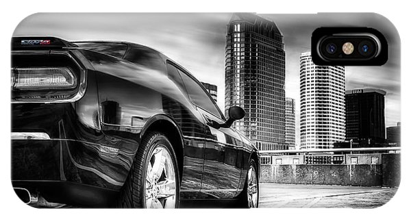 Dodge Challenger Tampa Skyline  IPhone Case