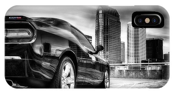 Dodge Challenger Tampa Skyline  IPhone Case