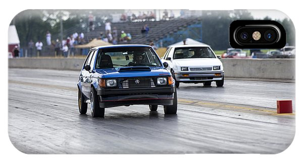 Dodge Omni Glh Vs Rwd Dodge Shadow - Without Times IPhone Case