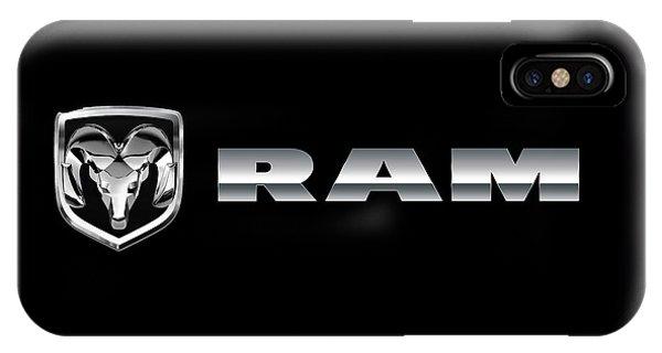Dodge Ram Logo IPhone Case