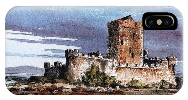 Donegal  Doe Castle Nr Creeslough  IPhone Case