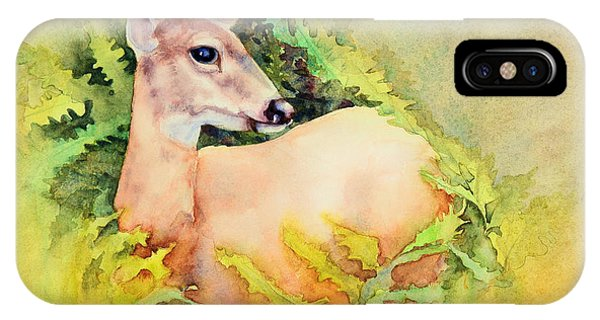 Doe In Ferns IPhone Case