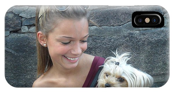 Dog And True Friendship 4 IPhone Case