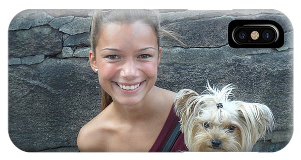 Dog And True Friendship 5 IPhone Case