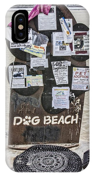 Dog Beach  Phone Case by Photographic Art by Russel Ray Photos