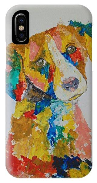Dog Beautiful Color Phone Case by Abdo Allahabi