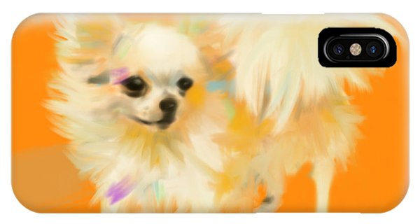 Dog Chihuahua Orange IPhone Case