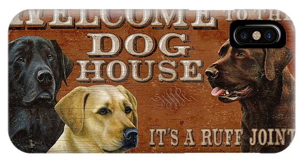 Hunting iPhone Case - Dog House by JQ Licensing