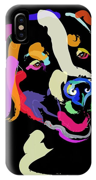 Dog Iggy Color Me Bright IPhone Case