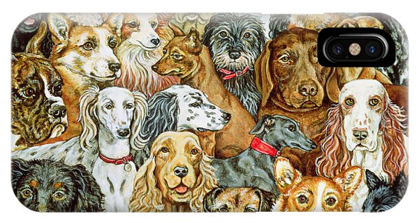 Dog Spread IPhone Case