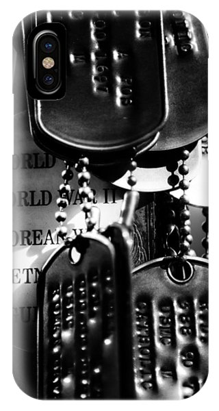 Dog Tags From War IPhone Case
