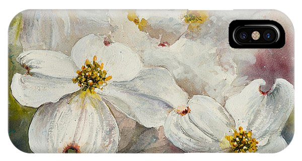 Dogwood 6 IPhone Case