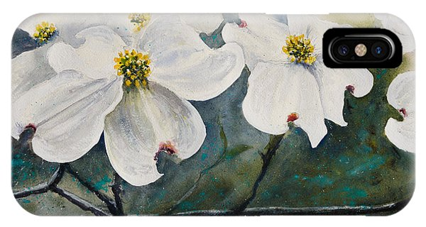 Dogwood 7 IPhone Case