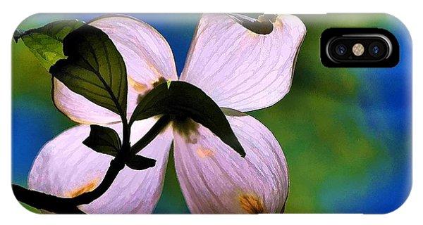 Dogwood Blossom IPhone Case