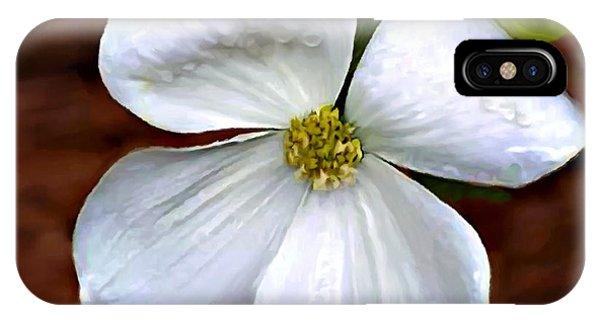 Dogwood Blossom Yosemite IPhone Case