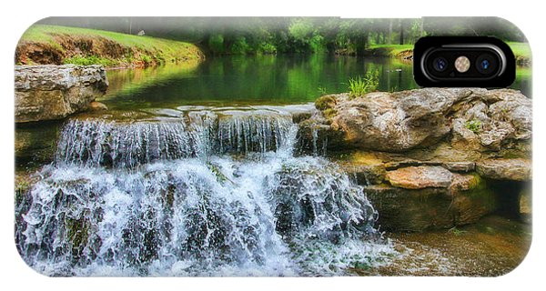 Dogwood Canyon Falls IPhone Case
