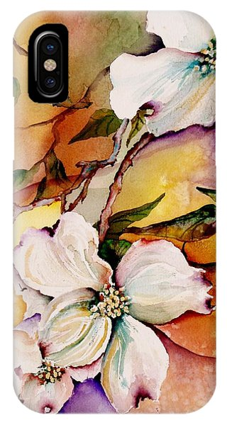 Lavender iPhone Case - Dogwood In Spring Colors by Lil Taylor