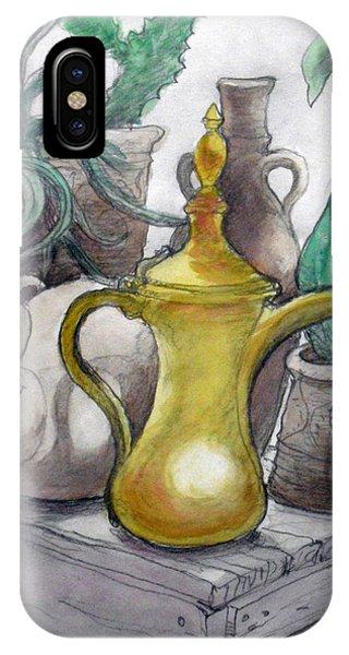 Doha Coffee Urn Phone Case by Jack Adams