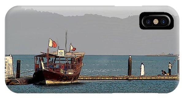 Doha Corniche Phone Case by Sanjeewa Marasinghe