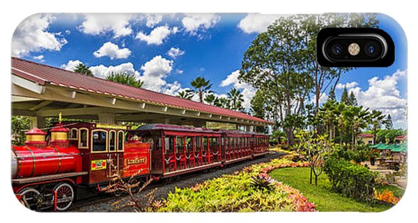 Dole Plantation Train 3 To 1 Aspect Ratio IPhone Case