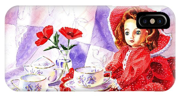 Doll At The Tea Party  IPhone Case