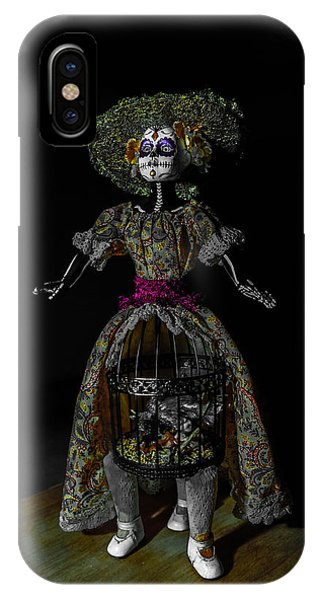Doll With Dead Bird In New Orleans IPhone Case