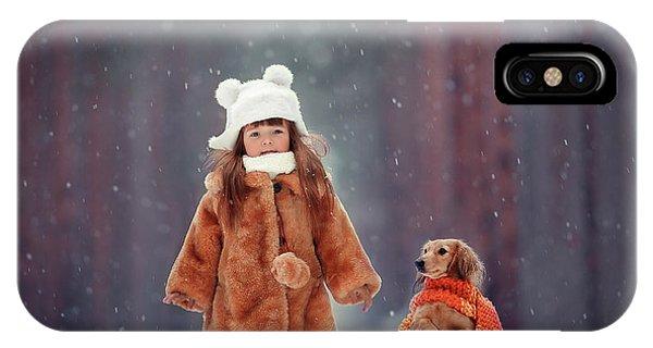 Humor iPhone Case - Dolls by Anna Melnikova