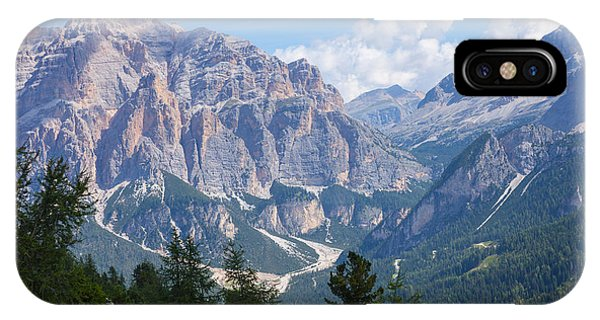 Dolomite Mountain View IPhone Case