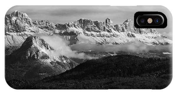 Dolomite Mountains - Italian Alps IPhone Case