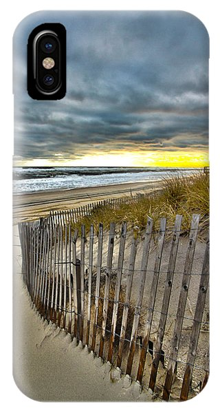 Dolphin Lane - 1 IPhone Case