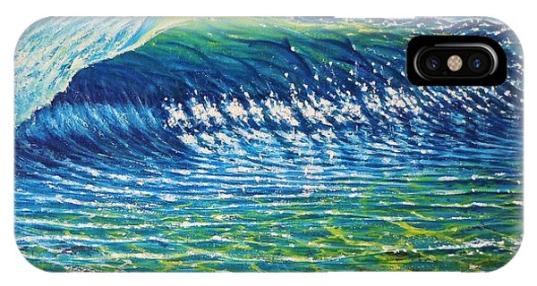 Dolphin Surf Phone Case by Joseph   Ruff
