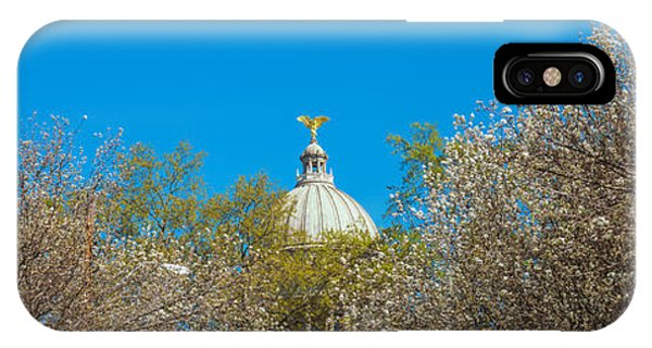 Capitol Building iPhone Case - Dome Of A Government Building, Old by Panoramic Images