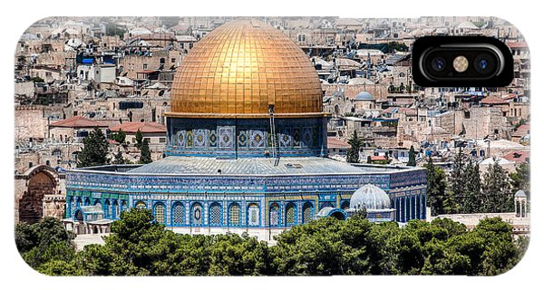 Dome Of The Rock IPhone Case