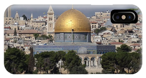 Dome On The Rock  IPhone Case